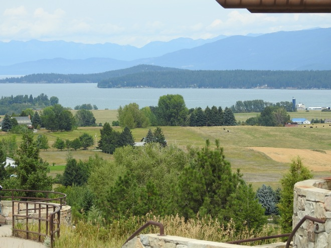 Flathead Lake from Polson Overlook