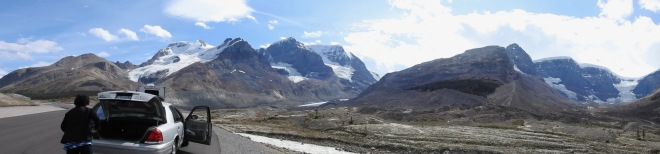 Icefields Panorama
