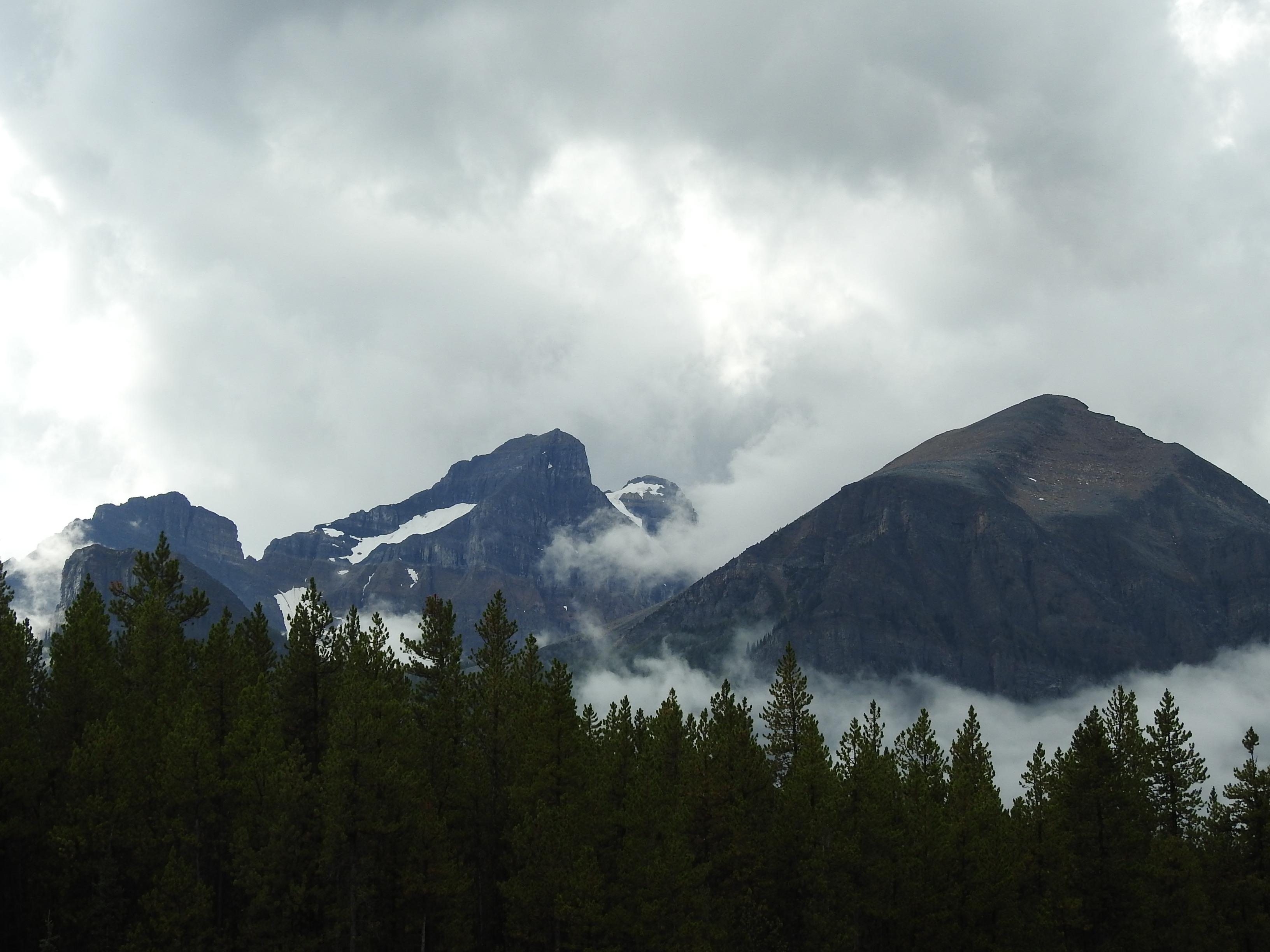 The Massive Mountain Range N of Banff