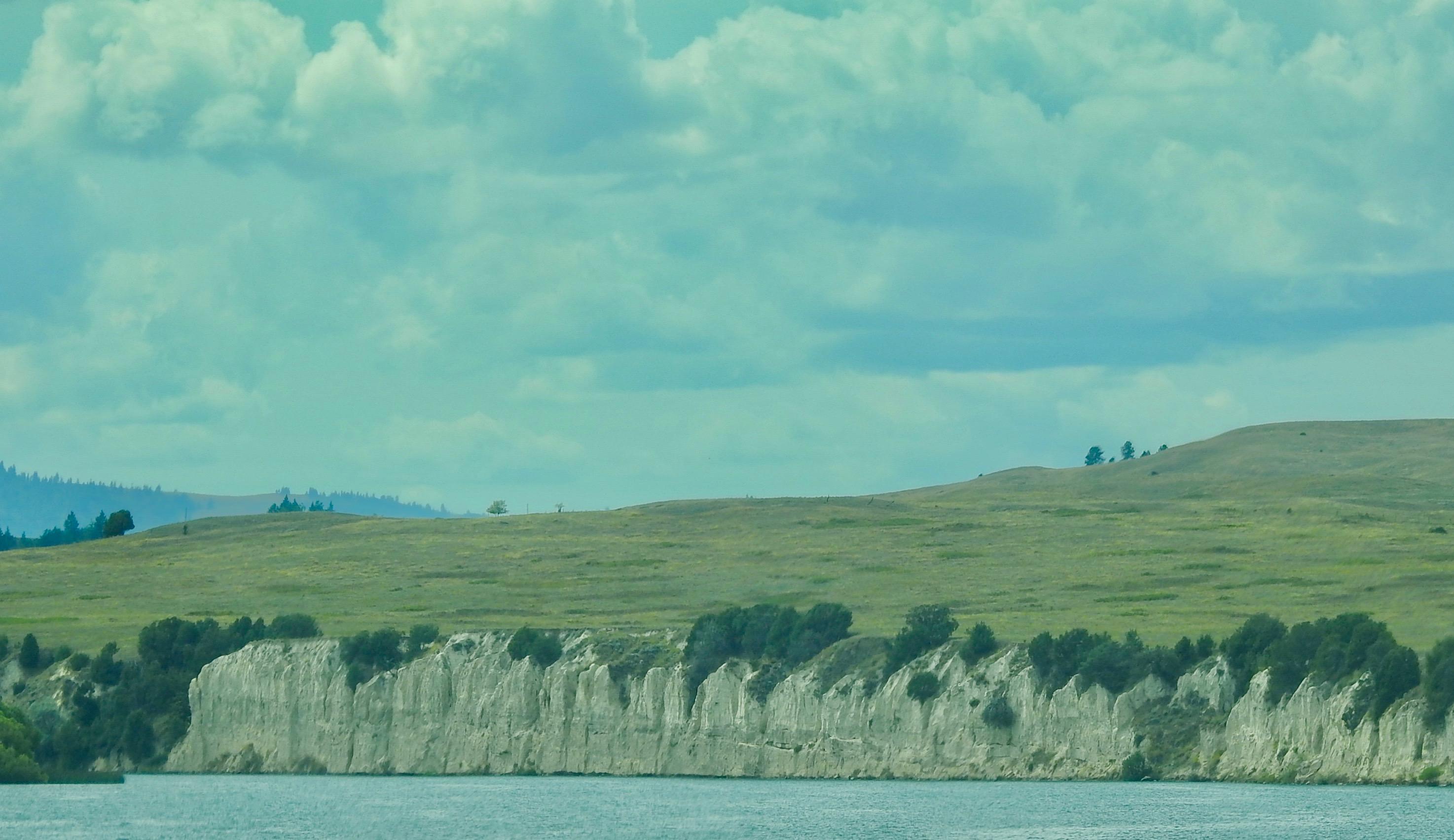 White Cliffs along Flathead lake