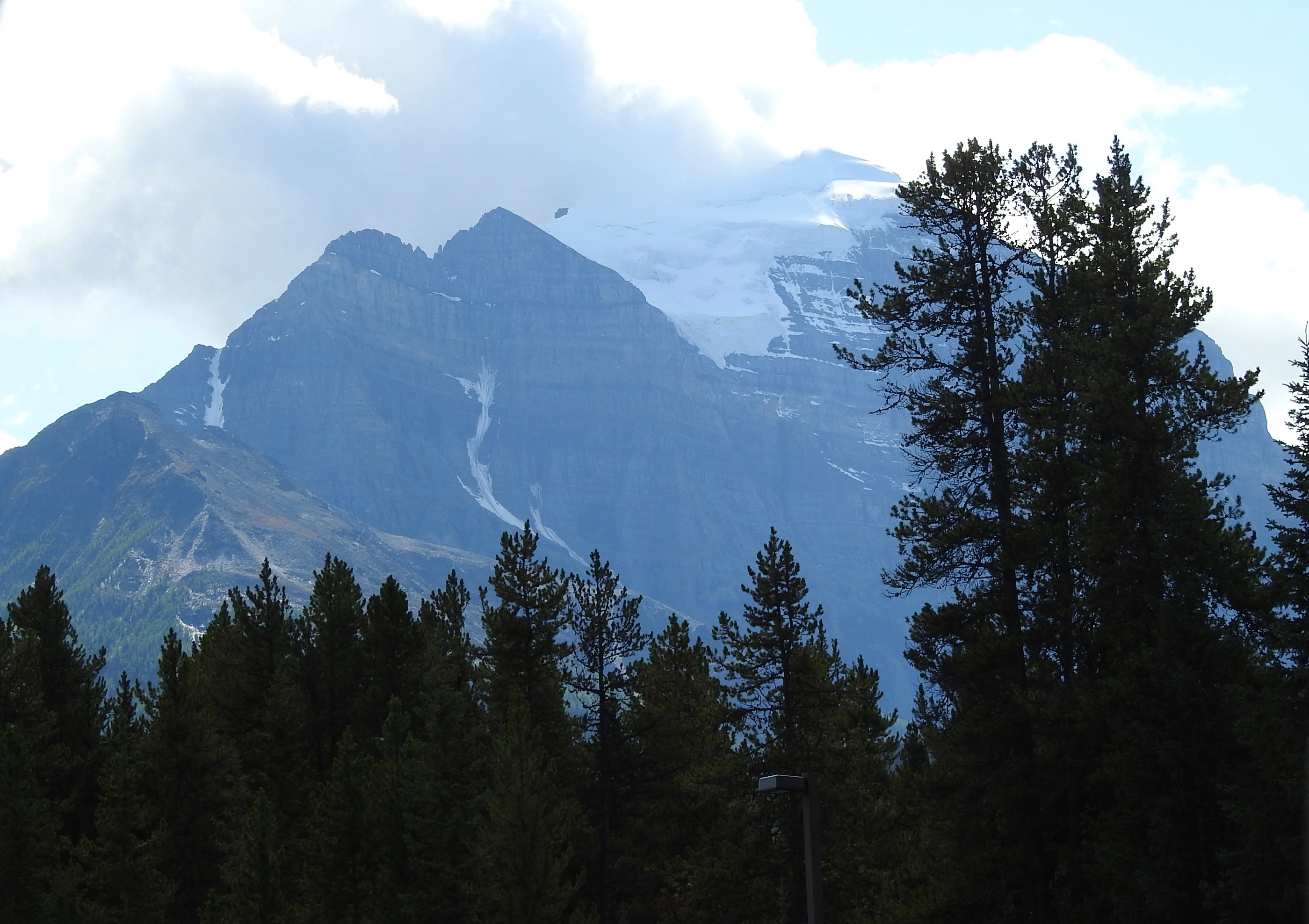 Whitehorn Mountain, from Campground